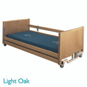 Buy Sidhil Bradshaw Low Nursing Care Bed (1275/LOW/LOAK/S) sold by eSuppliesMedical.co.uk