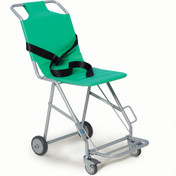 Buy Sidhil Transit Chair 4 wheels & footrest, front brake (TRA07/1) sold by eSuppliesMedical.co.uk
