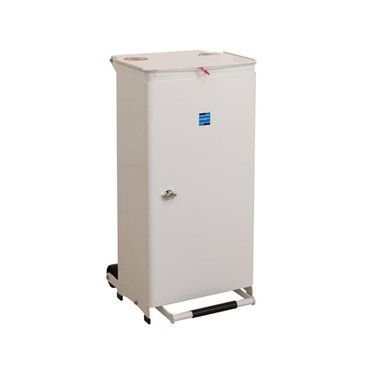 Buy Sidhil Kendal Waste Bin 70 Litre (White Lid) (BIN/70/W) sold by eSuppliesMedical.co.uk