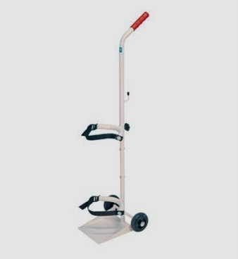 Buy Sidhil Universal Cylinder Trolley (1531) sold by eSuppliesMedical.co.uk