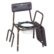 Buy Sidhil Cannock Commode (1329/BROWN) sold by eSuppliesMedical.co.uk