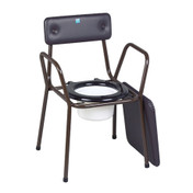 Buy Sidhil Calder Stackable Commode (with Extending Legs) (1366/EX/BROWN) sold by eSuppliesMedical.co.uk
