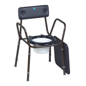 Buy Sidhil Calder Stackable Commode (1366/BROWN) sold by eSuppliesMedical.co.uk