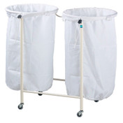 Buy Sidhil Lincoln Double Linen Trolley (frame only) (1521/2) sold by eSuppliesMedical.co.uk