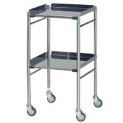 Buy Sidhil Hastings Surgical Trolley (460mm x 460mm) (1550) sold by eSuppliesMedical.co.uk