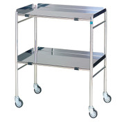 Buy Sidhil Hastings Surgical Trolley (610mm x 460mm) (1551) sold by eSuppliesMedical.co.uk