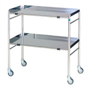 Buy Sidhil Hastings Surgical Trolley (765mm x 460mm) (1552) sold by eSuppliesMedical.co.uk