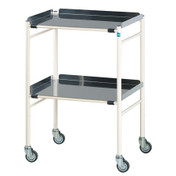 Buy Sidhil Harrogate Surgical Trolley (610mm x 460mm) (1501/S/3) sold by eSuppliesMedical.co.uk
