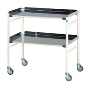 Buy Sidhil Harrogate Surgical Trolley (765mm x 460mm) (1502/S/3) sold by eSuppliesMedical.co.uk