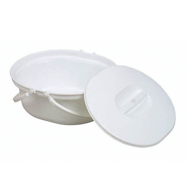 Buy Sidhil Additional Commode Pan & Lid (Extra Wide) (1341/015) sold by eSuppliesMedical.co.uk