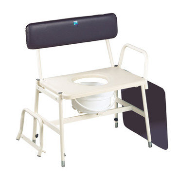 Buy Sidhil Bariatric Commode (Adjustable Arms & Legs) (3017/EX/2) sold by eSuppliesMedical.co.uk