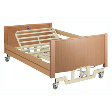 Buy Sidhil Bradshaw Bariatric Low Nursing Care Bed (1275/BAR/LOW/LOAK/S) sold by eSuppliesMedical.co.uk
