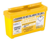 Buy Daniels SHARPSGUARD, Yellow Lid, 1 Litre (DNDD477YL) sold by eSuppliesMedical.co.uk