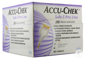 Buy Accu-Chek Safe-T-Pro Uno Lancets - Pack of 200 (5888662150_) sold by eSuppliesMedical.co.uk