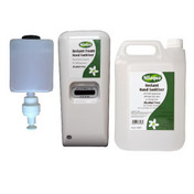 Nilaqua Hands Free Wall Sanitiser Starter Kit (Minimum 2)