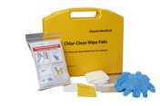 Buy Chlor-Clean Wipe Pak, (Blood), Case of 10 (H8727) sold by eSuppliesMedical.co.uk