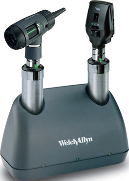 Buy Welch Allyn Prestige 3.5v Desk Diagnostic Set with Lithium Ion Handles and Charger (71824-M) (71824-M) sold by eSuppliesMedical.co.uk