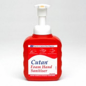 Buy Deb Cutan Foam Hand Sanitiser Pump Bottle 400ml, Each (DUCFS400P) sold by eSuppliesMedical.co.uk