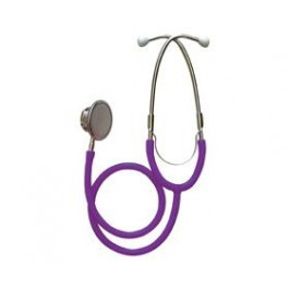 Buy Ruby Dual Head Stethoscope, Purple (TDI-13-208) sold by eSuppliesMedical.co.uk