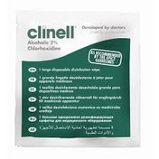 Clinell Alcoholic 2% Chlorhexidine Wipes for Medical Devices, Box of 200