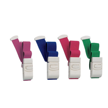 Buy Quick Release Tourniclip Tourniquet, Choice of 5 Colours (D80.0) sold by eSuppliesMedical.co.uk