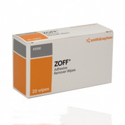 Buy Zoff Adhesive Remover Wipes, Pack of 20 (243-7275) sold by eSuppliesMedical.co.uk