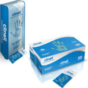 Buy Clinell Antibacterial Individual Hand Wipes, Pack of 100 (Z6CAHW100) sold by eSuppliesMedical.co.uk