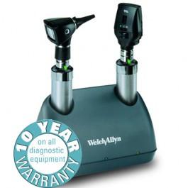 Buy Welch Allyn Elite 3.5v Desk Diagnostic Set with Throat Illuminator (71824) (71824) sold by eSuppliesMedical.co.uk