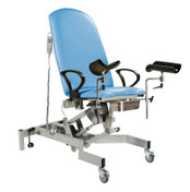 Buy Fusion GYNAE 1 Couch, 2 Section Electric. Gas Assisted Back, No Seat Tilt, complete with Arm Supports and Leg Supports. (Sun-FGYNE1/LEG1/COLOUR) sold by eSuppliesMedical.co.uk