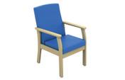 Buy Atlas Patient Low-Back Arm Chair in Vinyl (Multibuy) (SUN-CHA49/VYL/Colour) sold by eSuppliesMedical.co.uk
