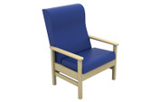 Buy Atlas High-Back Bariatric Arm Chair in Vinyl (Multibuy) (SUN-CHA55/VYL/Colour) sold by eSuppliesMedical.co.uk