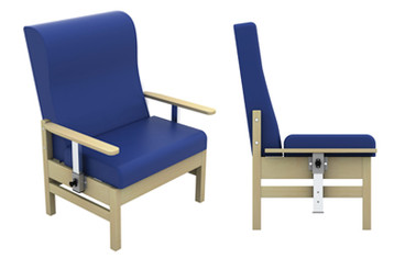 Buy Atlas High-Back Bariatric Arm Chair with drop Arms in Intervene (Multibuy) (SUN-CHA55DA/IV/COLOUR) sold by eSuppliesMedical.co.uk