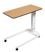 Buy Astro Over Bed Table, Parallel Base, Flat Compact Grade Laminate Top, Beech Colour (SUN-OBT2P/CM/BEECH) sold by eSuppliesMedical.co.uk