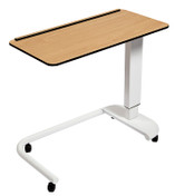 Buy Astro Over Bed Table, C-Shaped Base, Flat Compact Grade Laminate Top, Beech Colour (SUN-OBT2C/CM/BEECH) sold by eSuppliesMedical.co.uk