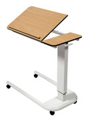 Buy Astro Over Bed Table, Parallel Base, Tilting Compact Grade Laminate Top with 1 Lip, Beech Colour (SUN-OBT4P/CM/1LT/BEECH) sold by eSuppliesMedical.co.uk