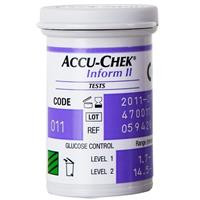 Buy Accu-Chek Inform II (Prev Performa) Strips, Pack of 50 (D213) sold by eSuppliesMedical.co.uk