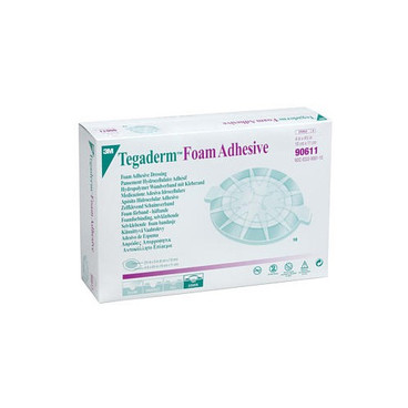 Buy 3M Tegaderm Foam Dressing 10 x 11cm, Pack of 10 (304-1589) sold by eSuppliesMedical.co.uk