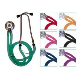 Buy Economy Twin Tube Sprague Rappaport Stethoscope, Green (TD1-13-304) sold by eSuppliesMedical.co.uk