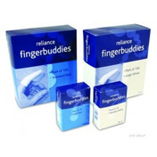 Buy Finger Buddies, White, Standard, Pack of 10 (REL491) sold by eSuppliesMedical.co.uk