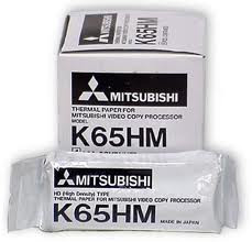 Buy Mitsubishi Thermal Printer Ultrasound Paper, MITK65HM, 10 Rolls (TMC-MITK65HM10) sold by eSuppliesMedical.co.uk