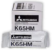 Buy Mitsubishi Thermal Printer Ultrasound Paper, MITK65HM, 10 Rolls (TMC-MITK65HM10) sold by eSuppliesMedical.co.uk