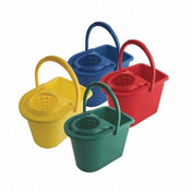 Buy CQC Colour Coded 15L Mop Wringer Buckets, 4 Colours Available, Each (CD0115) sold by eSuppliesMedical.co.uk
