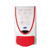 Buy Red Dispenser for Hand Sanitiser 1 Litre Cartridges (Gel and Foam) (DUPROB01SA) sold by eSuppliesMedical.co.uk