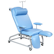 Sunflower Fixed Height Treatment Chair with Four Locking Castors 1