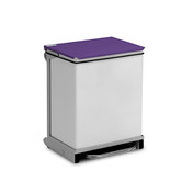 Bin - 50 Ltr, Hands Free, Castors, Silent Closing (BR050) sold by eSuppliesMedical.co.uk
