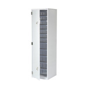 Buy Bu Drugs Cabinet - 1850mm High - L/H Door - Eurolock C/W Plastic Trays (BU140) sold by eSuppliesMedical.co.uk