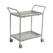 Buy G.P.Trolley Small 2 Alum Trays (GP010) sold by eSuppliesMedical.co.uk