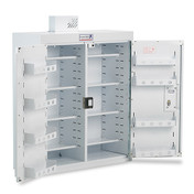 Buy Drug Cabinet. (Pc/839) Drug Cab 800X300X900 With Light (PC155) sold by eSuppliesMedical.co.uk