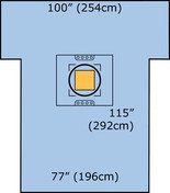 Buy 3M Steri-Drape, Caesarean-Section Sheet and Pouch with Loban 2 Incise Film, Pack of 5 (MO6697) sold by eSuppliesMedical.co.uk