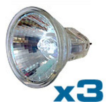 Buy Daray LB7016 20W Halogen Bulb 35mm, Pack of 3 (LB7016 ) sold by eSuppliesMedical.co.uk